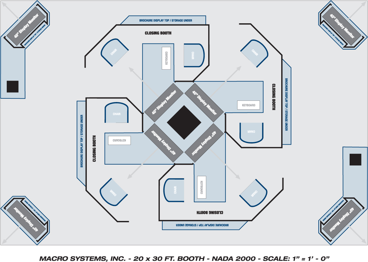 Booth floor plan software onvacations wallpaper for Trade show floor plan design