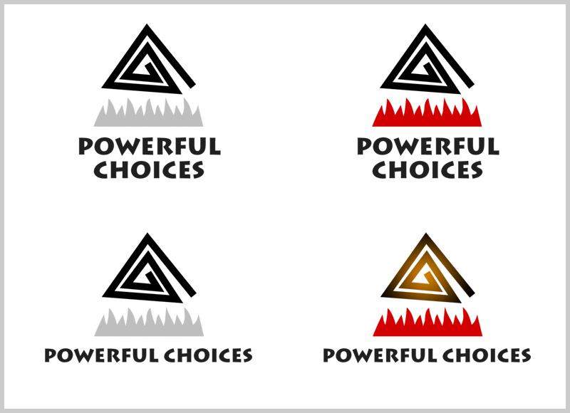 Powerful Choices Logo Ideas