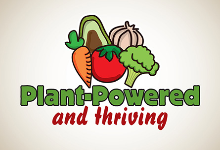 Plant Powered and Thriving Logo