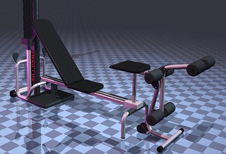 Bowflex Nautilus XTL Render