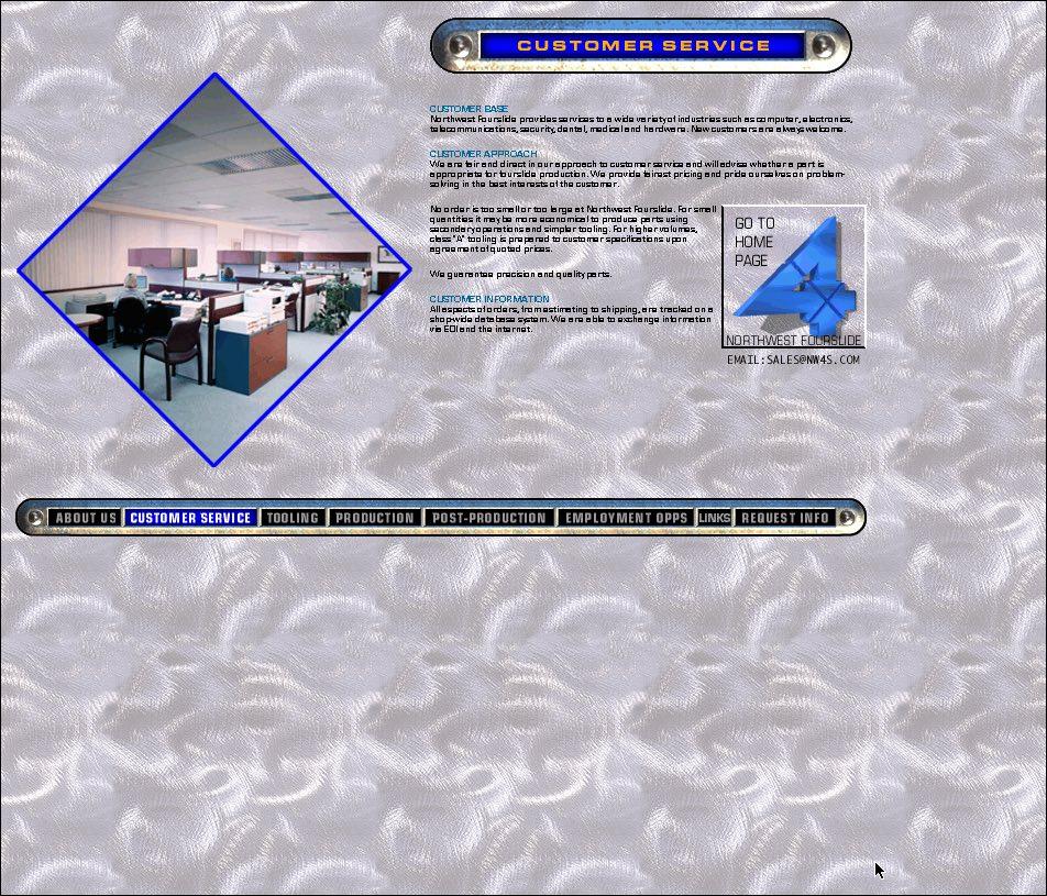Northwest Fourslide Early Web Site