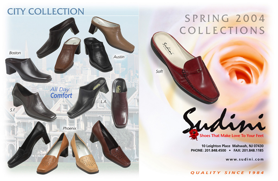 d8cfac6023 Sudini Shoes Spring 2004 Catalog – Cliff Schinkel Design