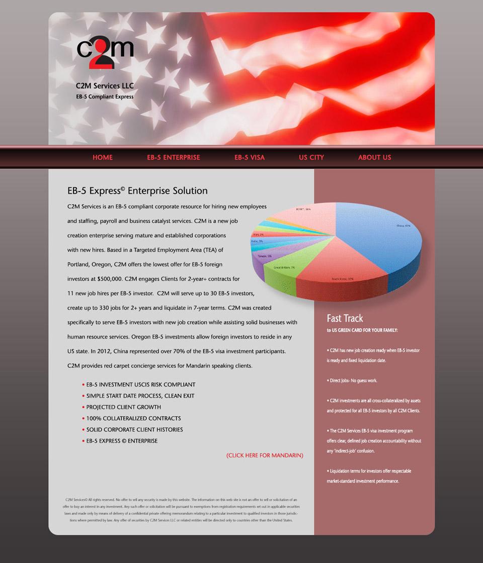 C2M Services Investor Site