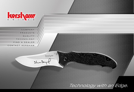 Kershaw Knives Web Site Design