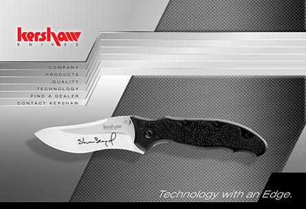 Kershaw Knives Web Site Design