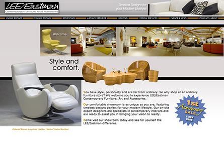 Lee Eastman Furniture Web Site