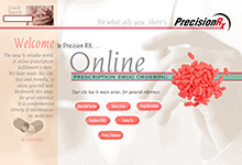 PrecisionRX Online Pharmacy Site Designs