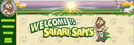 Safari Sam's Web Site Design