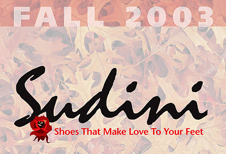 Sudini Shoes Fall 2003 Catalog
