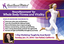 Anat Baniel Method Event Flyer