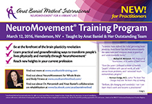 Anat Baniel Method Practitioner Ad