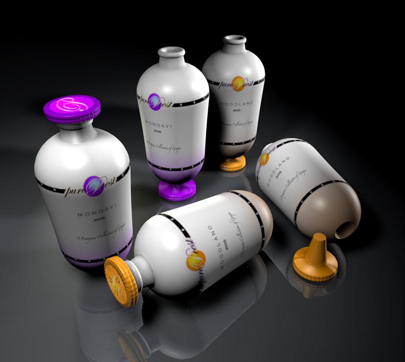 PurePrest Premium Grape Packaging