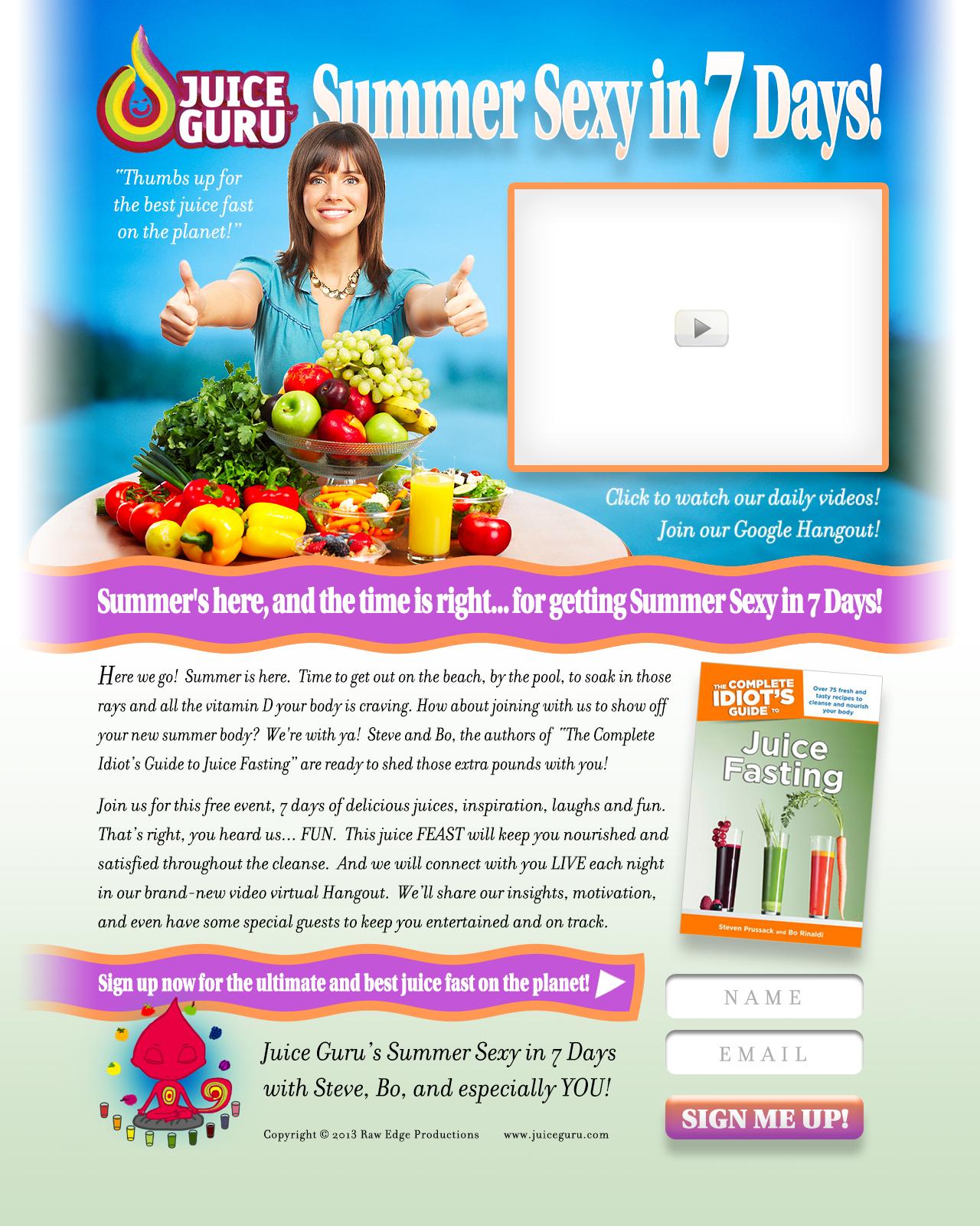Juice Guru Summer Program