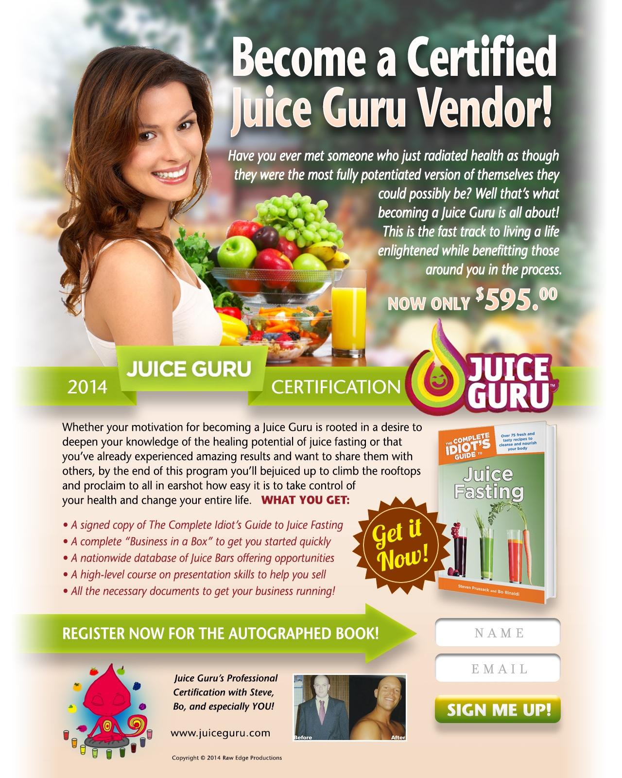 Juice Guru Certification