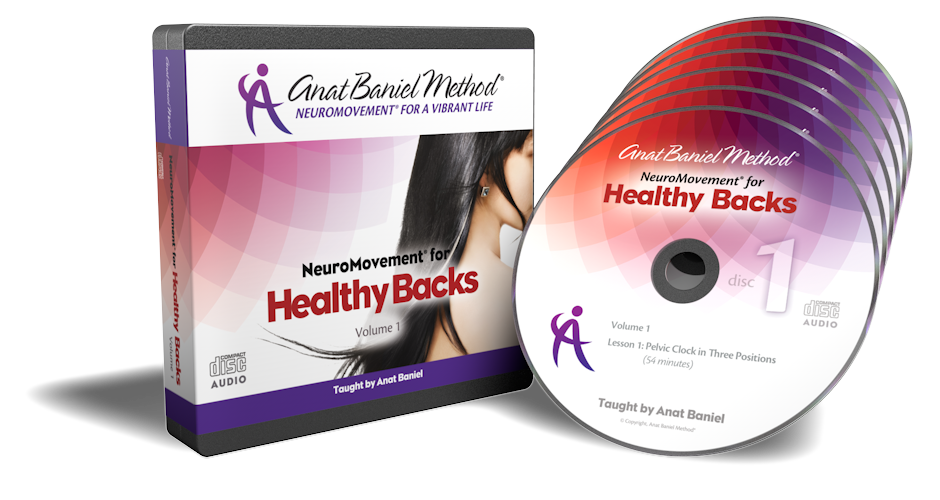 Anat Baniel Method CD and DVD Product Renders