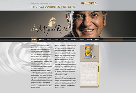 don Miguel Ruiz Web Site