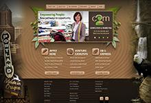 C2M Services Web Site