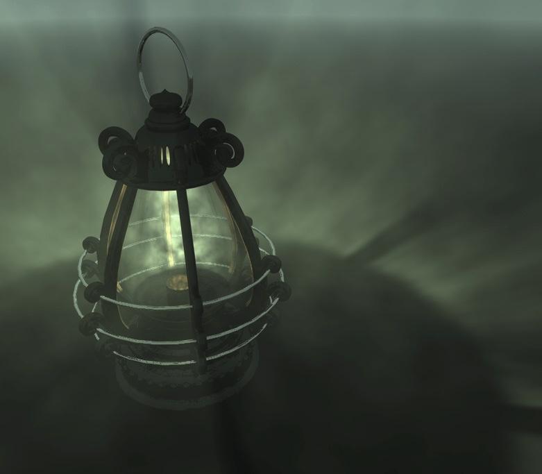 Joe Rubino The Magic Lantern Prop Development