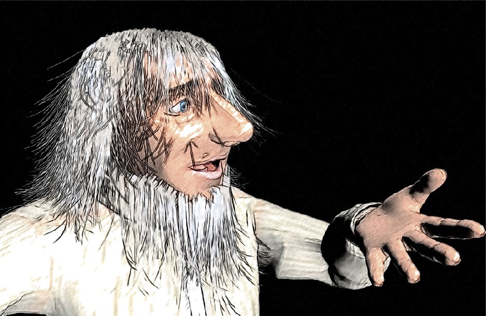 Joe Rubino The Magic Lantern Character Illustration Style Tests