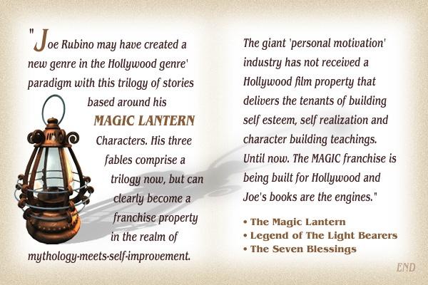 Joe Rubino The Magic Lantern Character Development