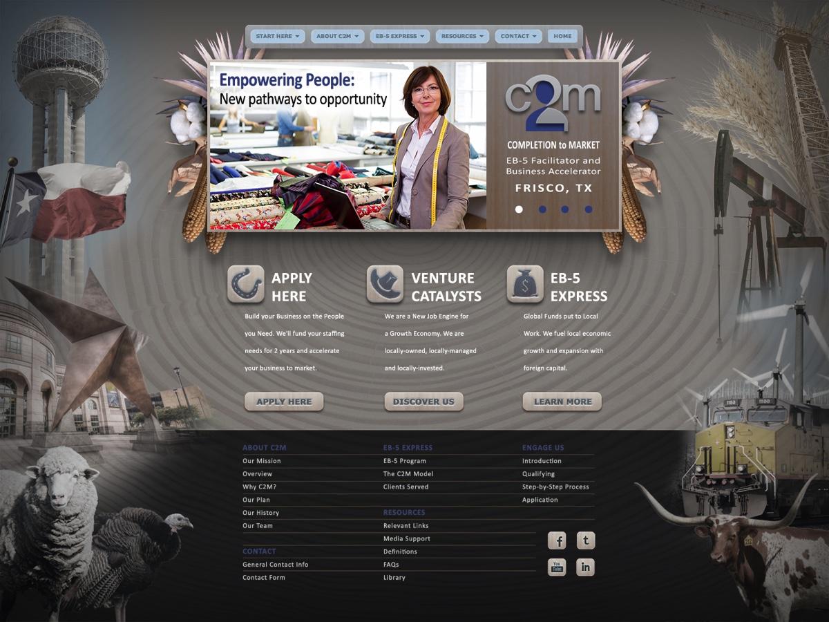 C2M Services Texas Web Site Design