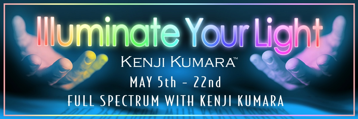 Kenji Kumara Illuminate Your Light