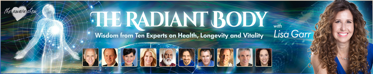 The Aware Show Radiant Body Summit Banners