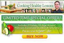 Cooking Healthy Lessons