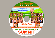 Food Revolution Network CD Labels