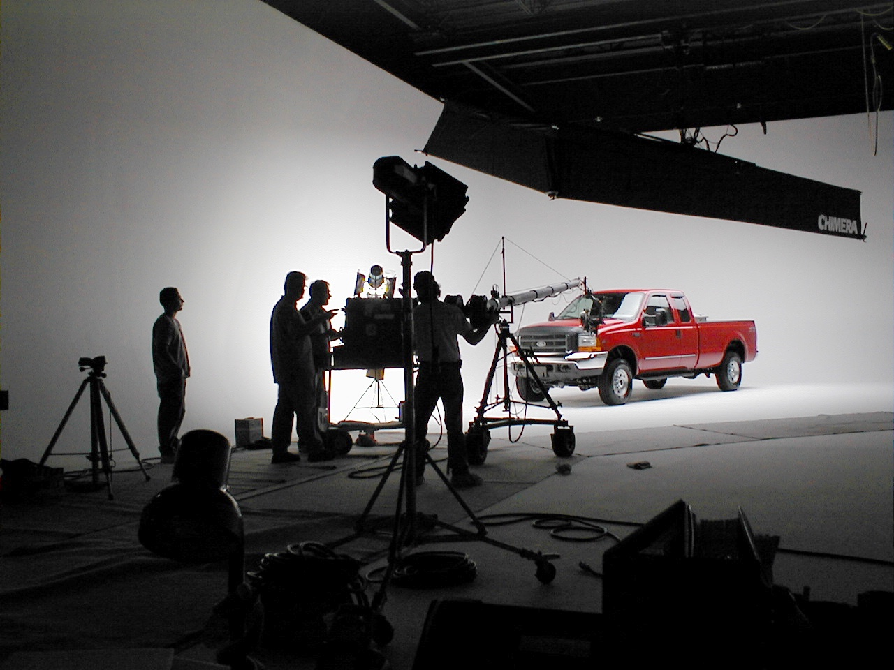EyeVelocity Cyclorama Stage Ford Video