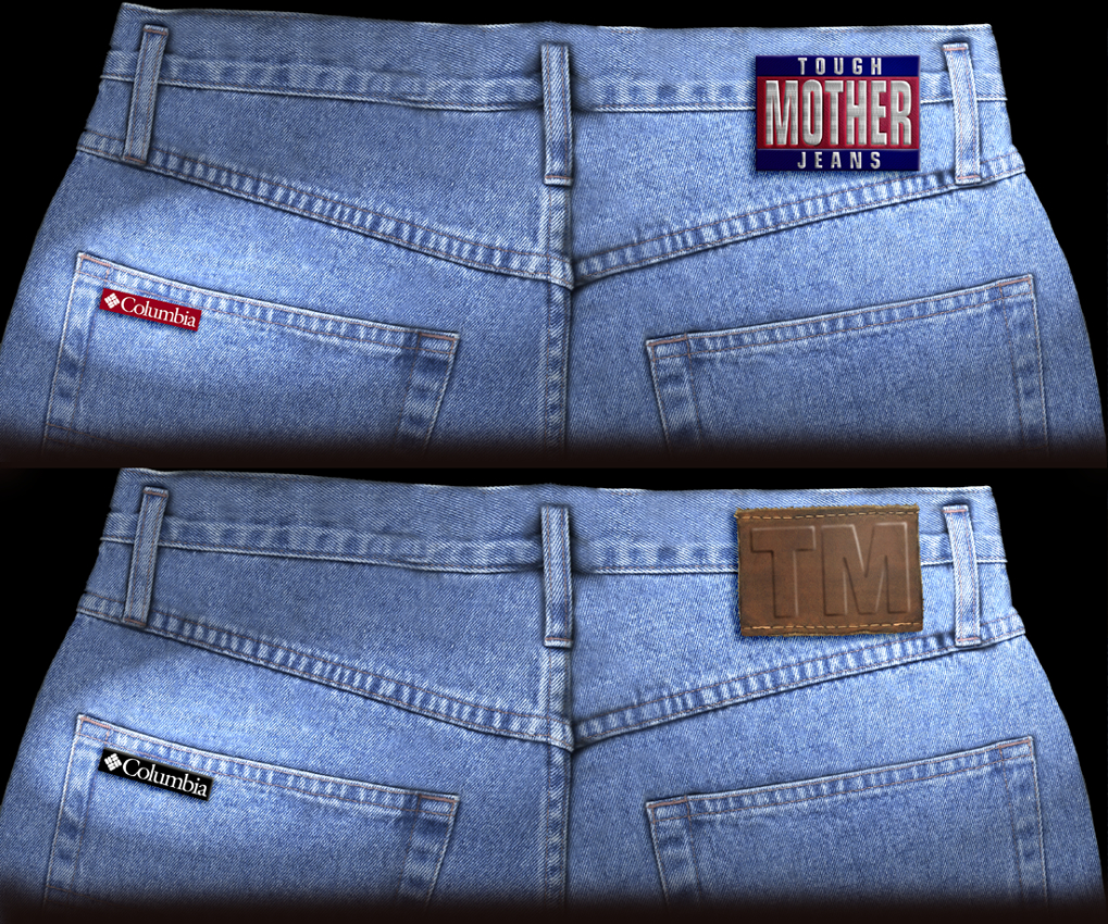Columbia Sportswear Tough Mother Jeans Patch