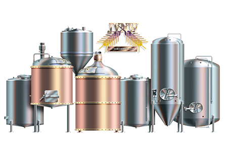 JVNW Brewing Tanks