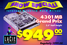 LaCie Show Special Ads