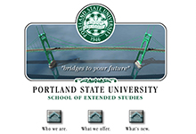 PSU Web Site Pages