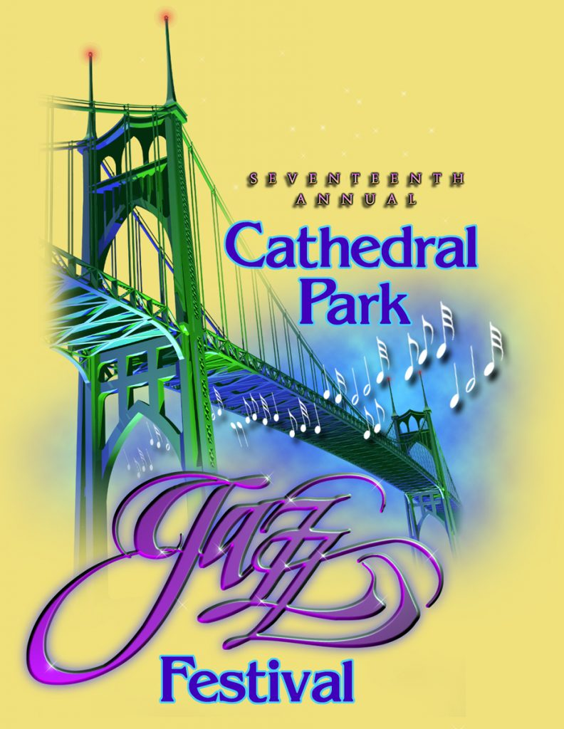 Cathedral Park Jazz Festival T-Shirts