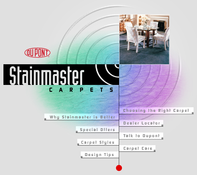 DuPont StainMaster Web Site Design
