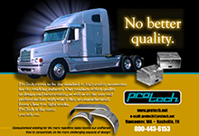 ProTech Trucking Accessory Ads