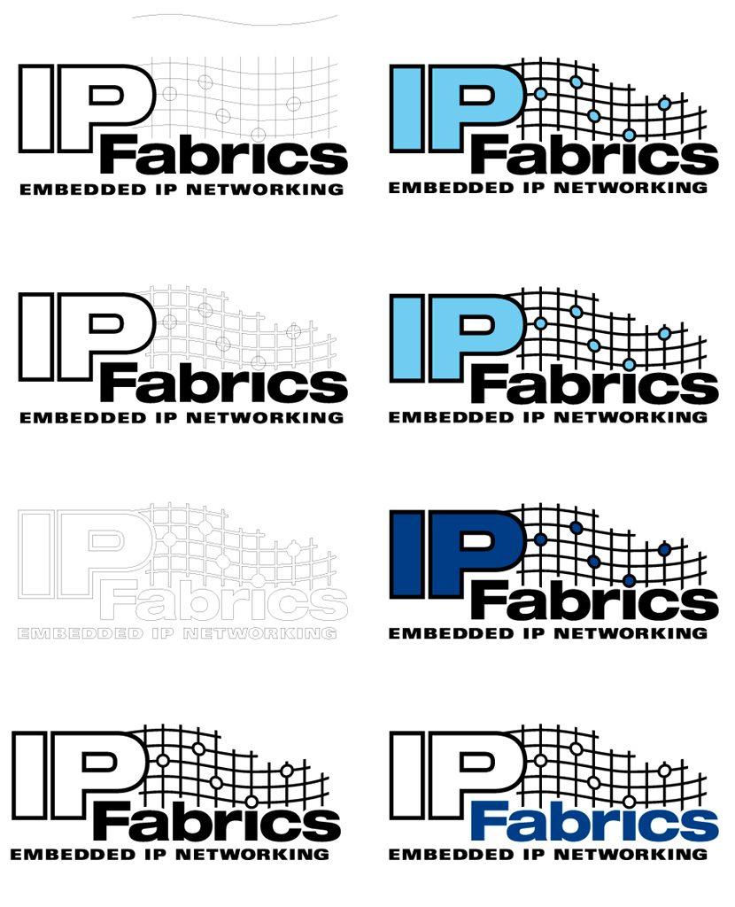 IP Fabrics Logo Design