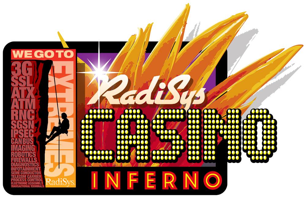 Radisys Casino Inferno Event Logo