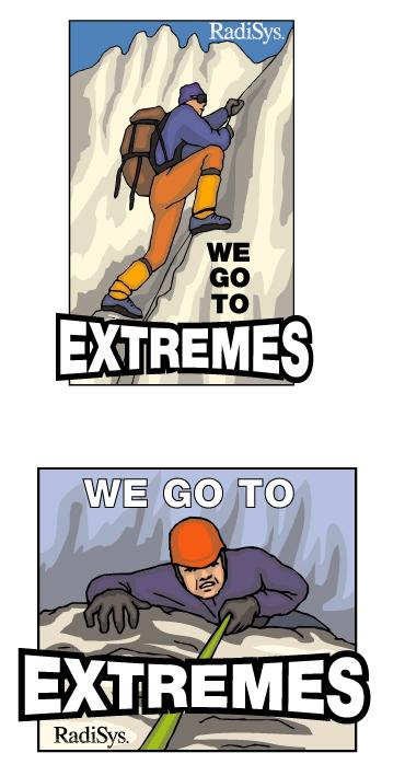 Radisys Extreme Event Logo
