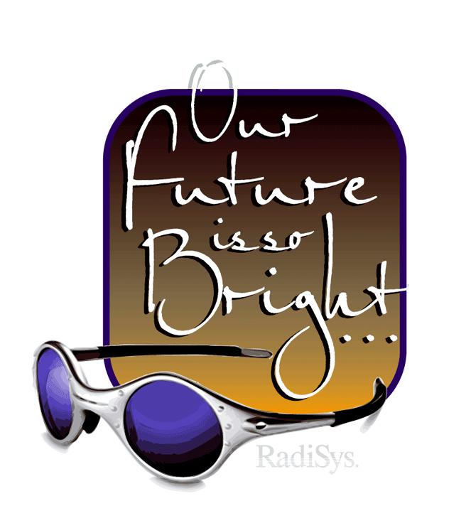 Radisys Future is So Bright Event Logo