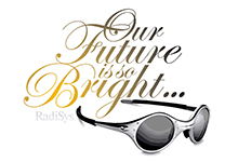 Radisys Future So Bright Logo