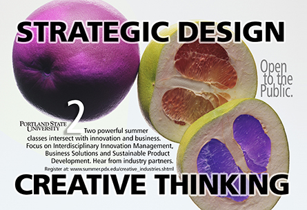 PSU Strategic Design Postcards