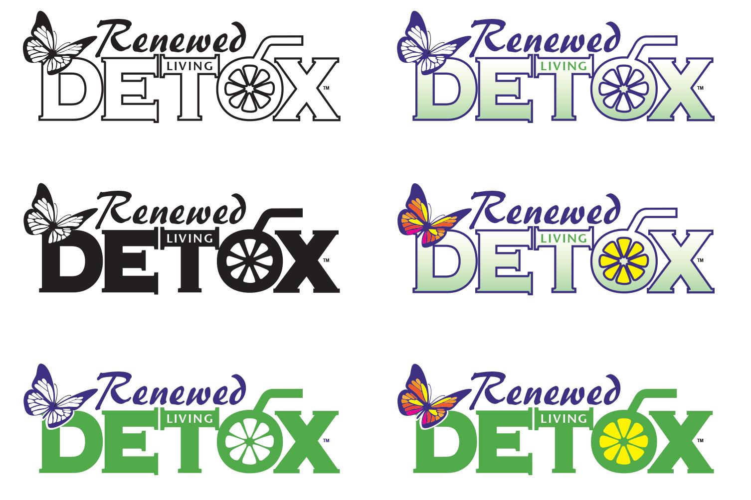 Renewed Living Detox Logo