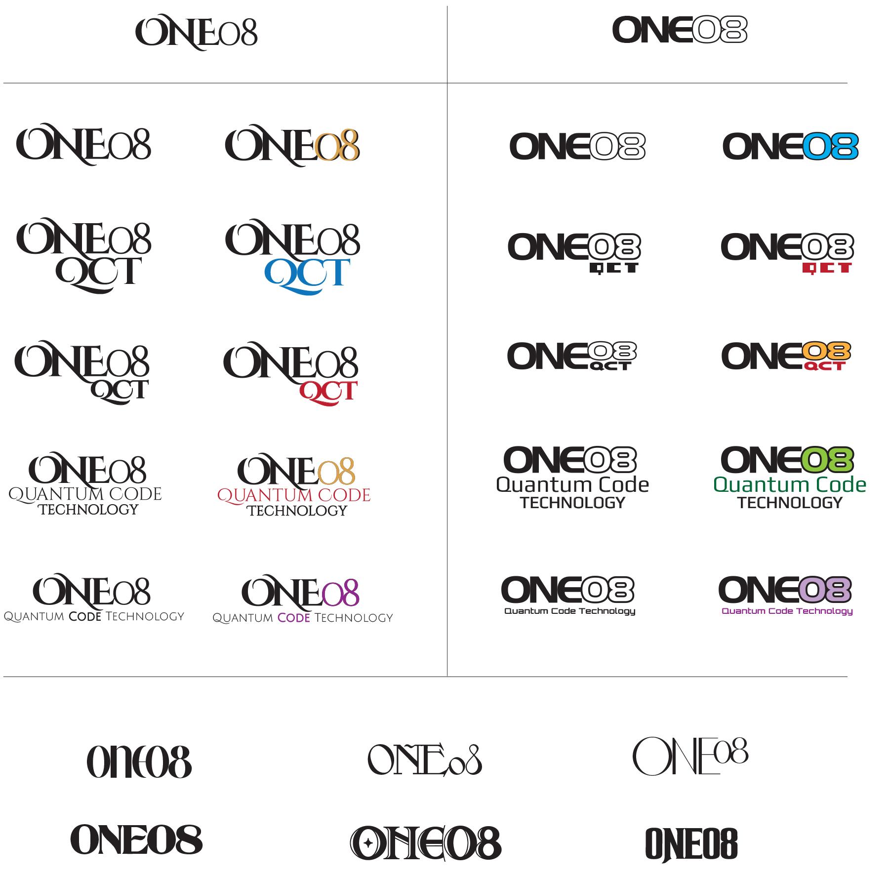One08 Logo Design