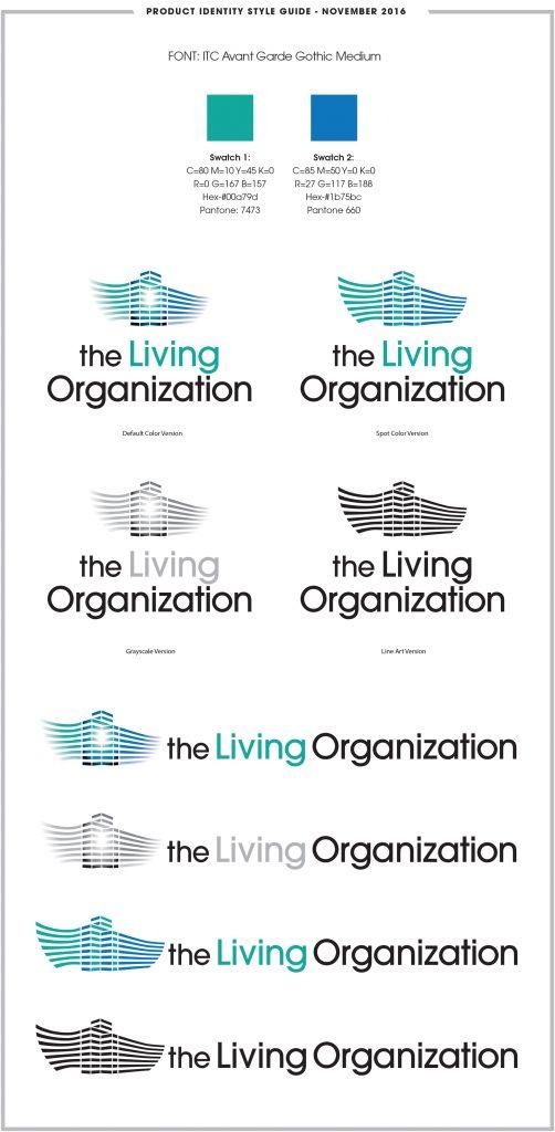 The Living Organization Logo