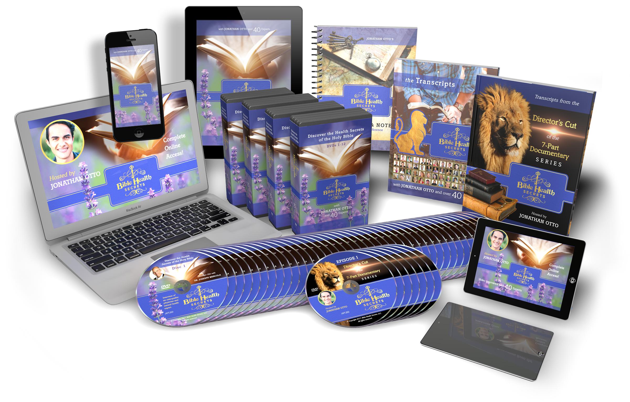 Bible Health Secrets Sales Graphics
