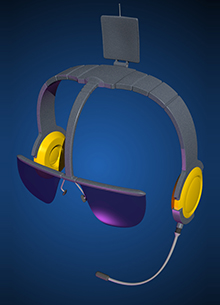 Hitachi Headset Concept
