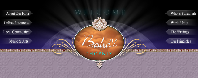 Phoenix Bahai Temple Web Site Designs