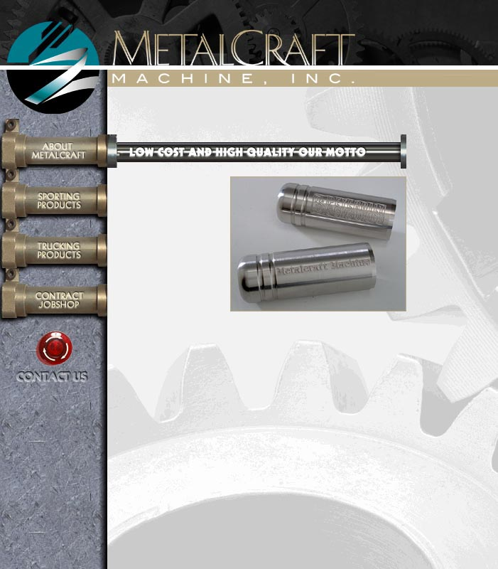 MetalCraft Machine Web Site